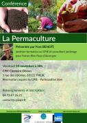 Affiche Conférence Permaculture